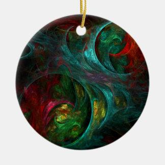 Ornamento do círculo da arte abstracta da génese