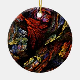 Ornamento do círculo da arte abstracta da harmonia