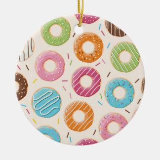 Ornamento do círculo das rosquinhas