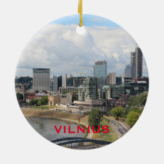 Ornamento do círculo de Vilnius Lithuania