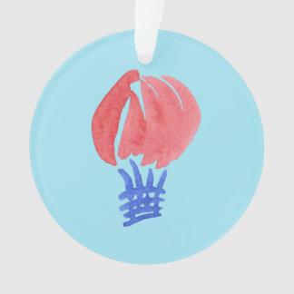 Ornamento do círculo do balão de ar