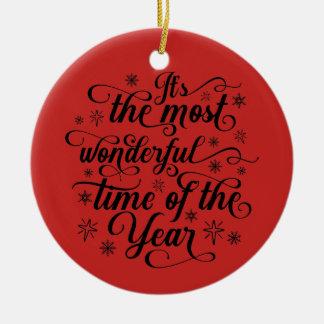 Ornamento do círculo do feriado do roteiro da foto