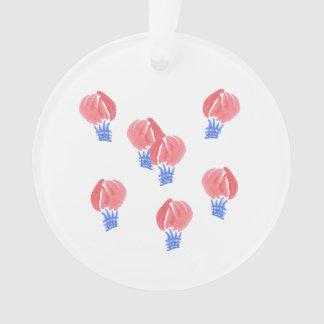 Ornamento do círculo dos balões de ar