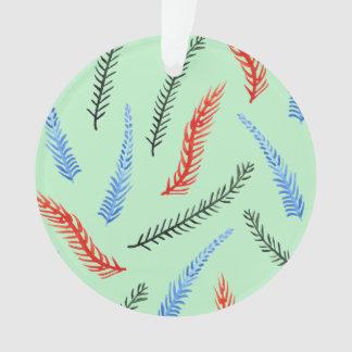 Ornamento do círculo dos ramos