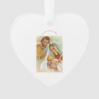 Ornamento do coração da avenida Maria