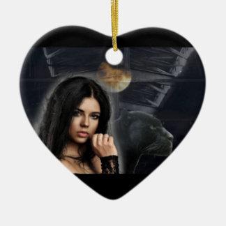 Ornamento do coração de Jazzmine