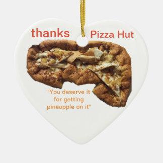 Ornamento do coração de TNIT (pizza pobre)