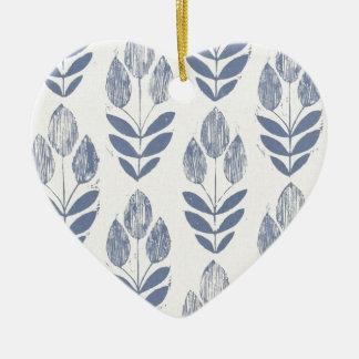 Ornamento do coração - tulipas de Amsterdão