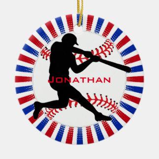 Ornamento do design do basebol
