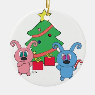 Ornamento do dia de Natal de Rollys