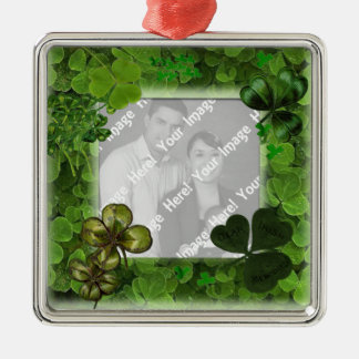 Ornamento do dia de St Patrick da foto