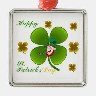 Ornamento do dia de St Patrick feliz
