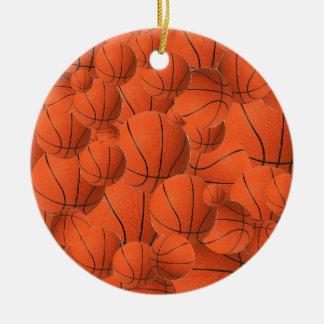 Ornamento do fã de basquetebol