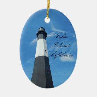 Ornamento do farol da ilha de Tybee