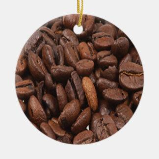 Ornamento do feijão de café