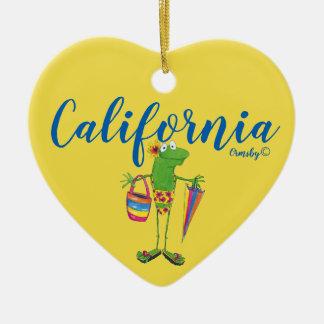 Ornamento do feriado: Califórnia