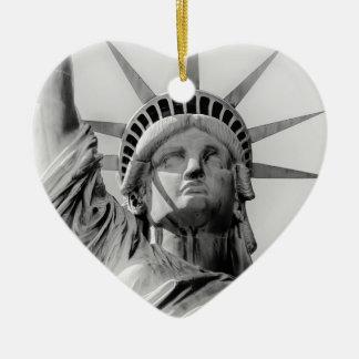 Ornamento do feriado da estátua da liberdade