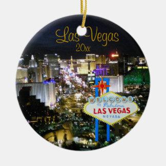 Ornamento do feriado de Las Vegas
