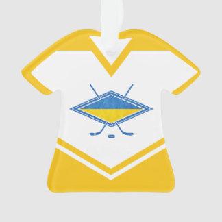 Ornamento do feriado de Ucrânia do jérsei do nome