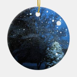 Ornamento do feriado do conto do inverno