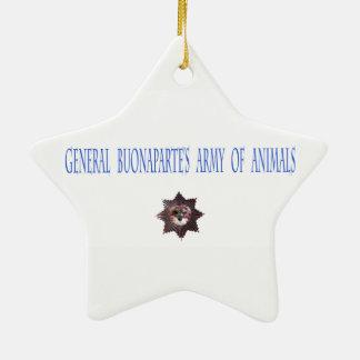 Ornamento do feriado que caracteriza um soldado