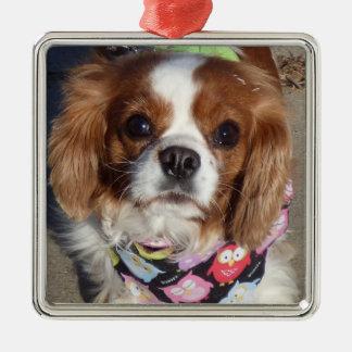 Ornamento do filhote de cachorro de cocker spaniel