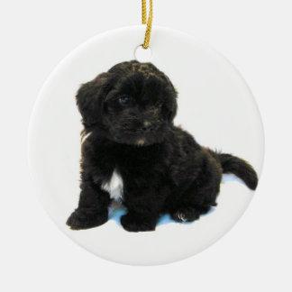 Ornamento do filhote de cachorro de Havanese