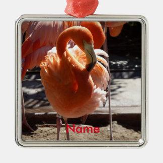 Ornamento do flamingo