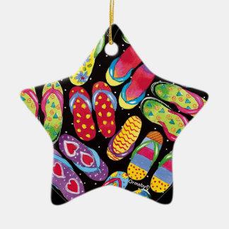 Ornamento do flip-flop