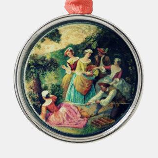 ornamento do frasco da jóia da herança