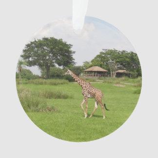 Ornamento do girafa