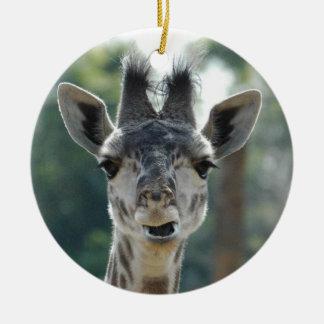 Ornamento do girafa do bebê