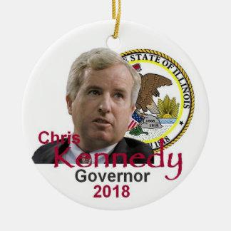 Ornamento do governador de Chris KENNEDY