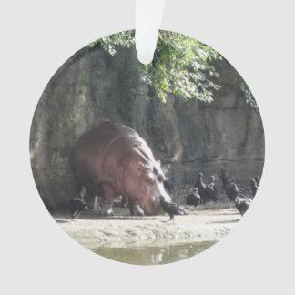 Ornamento do Hippopotamus