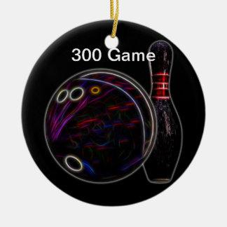 Ornamento do jogo da bola & do Pin 300