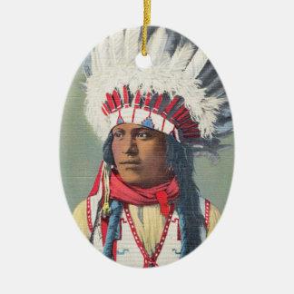 Ornamento do nativo americano