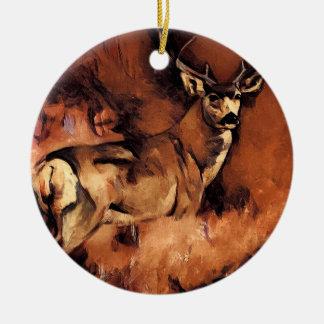 Ornamento do original dos cervos do fanfarrão