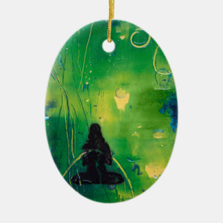 Ornamento do Oval de Namaste