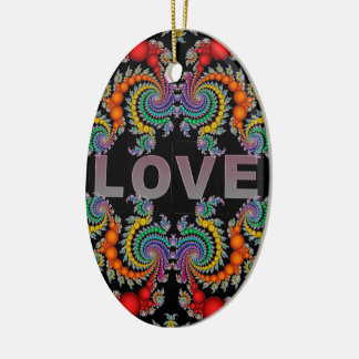 Ornamento do Oval do amor