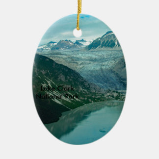 Ornamento do parque nacional de Clark do lago