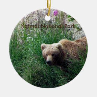 Ornamento do parque nacional de Katmai