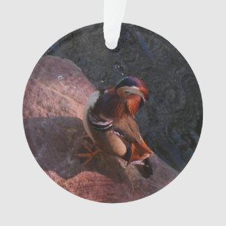 Ornamento do pato de mandarino