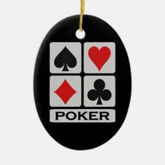 Ornamento do póquer
