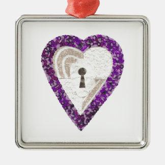 Ornamento do prêmio do coração do cacifo