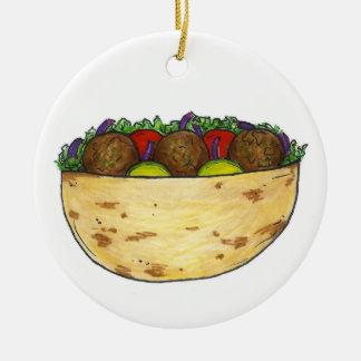 Ornamento do presente de Foodie da comida do