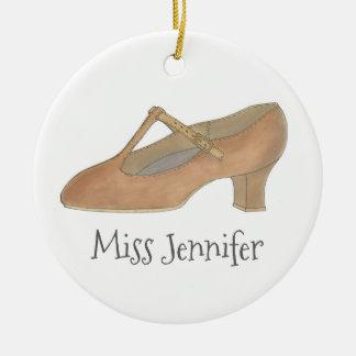 Ornamento do presente dos calçados do caráter da