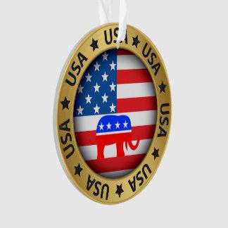 Ornamento do republicano dos EUA