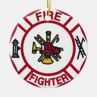 ornamento do sapador-bombeiro