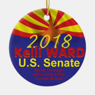 Ornamento do Senado de Kelli WARD2018