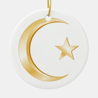 Ornamento do símbolo do Islão